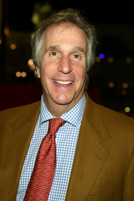 Henry Winkler at the Game Show Networks 2003 Winter TCA Tour.
