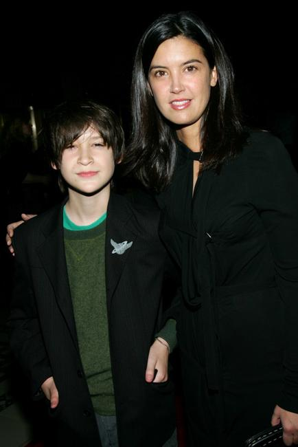 Phoebe Cates and her son Owen Kline at the 2005 New York Film Critics Circle's 71st Annual Awards Dinner.