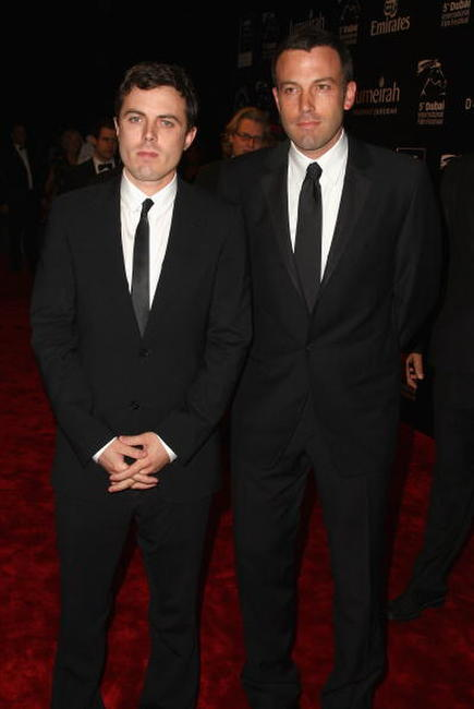 Casey Affleck and Ben Affleck at the Opening Night Gala of the 5th Annual Dubai International Film Festival.