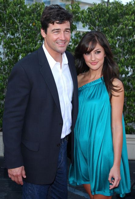 Kyle Chandler and Minka Kelly at the NBC All-Star Party during the 2007 Summer Television Critics Association Press Tour.