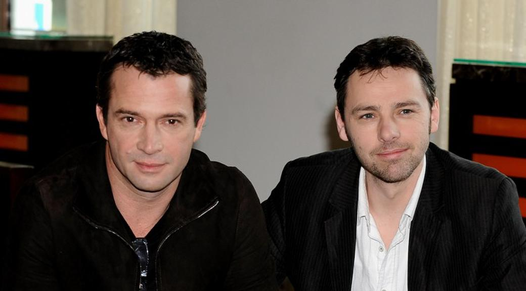 James Purefoy and director Michael J. Basset at the photocall of