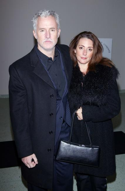 John Slattery and wife Becky at the New York Stage And Film's 20th Anniversary Benefit Gala.