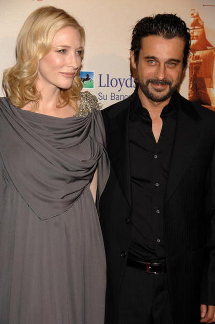 Cate Blanchett and Jordi Molla at the premiere of