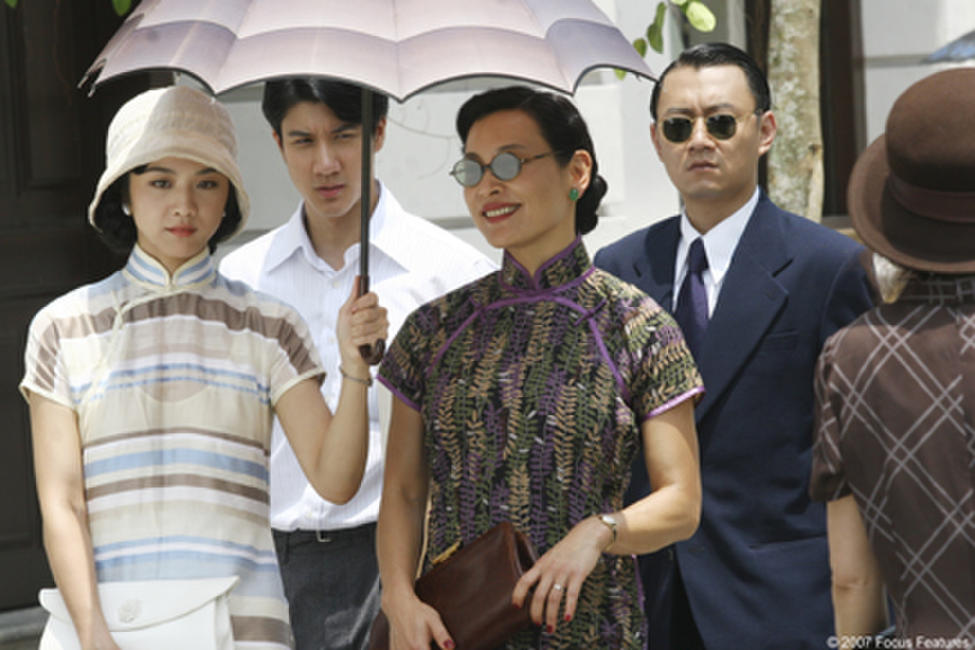 Tang Wei, Wang Lee Hom and Joan Chen in
