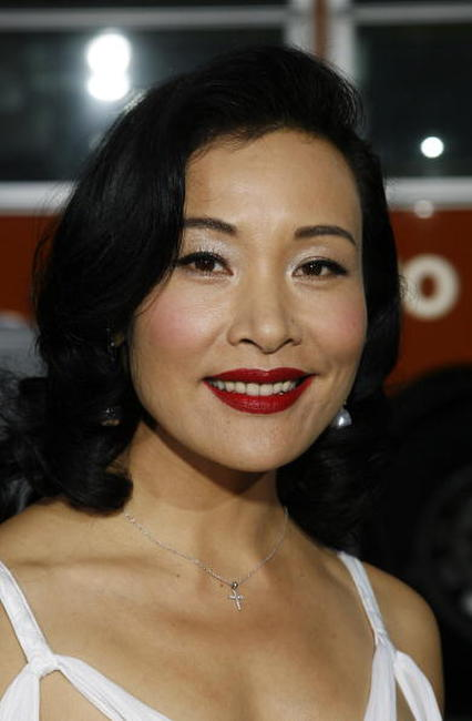 Actress Joan Chen at the Beverly Hills premiere of