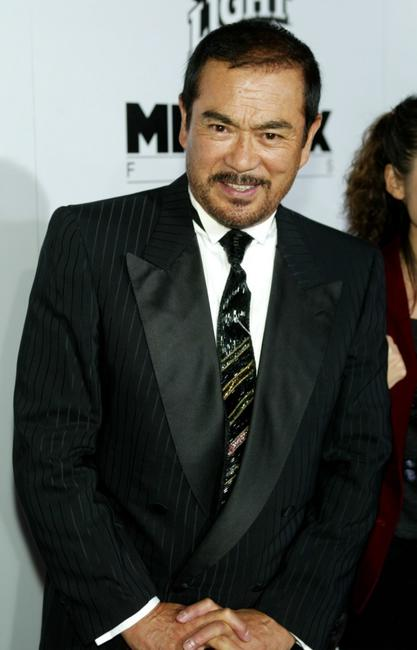 Sonny Chiba at the Los Angeles premiere of
