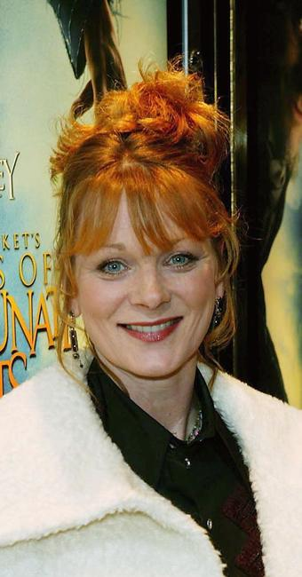 Samantha Bond at the European premiere of
