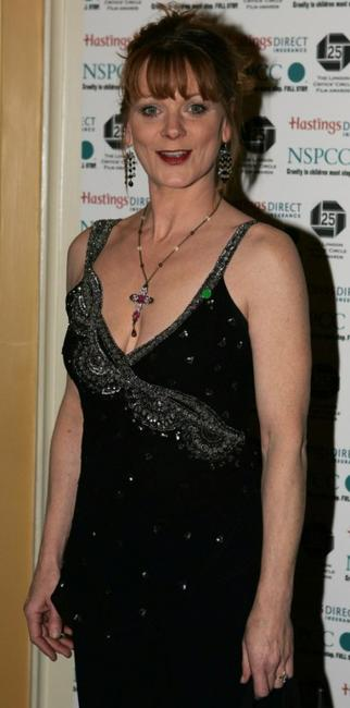 Samantha Bond at the Awards Of The London Film Critics Circle.