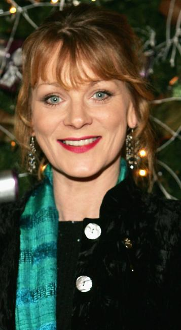Samantha Bond at the Womens Working Lunch Party.