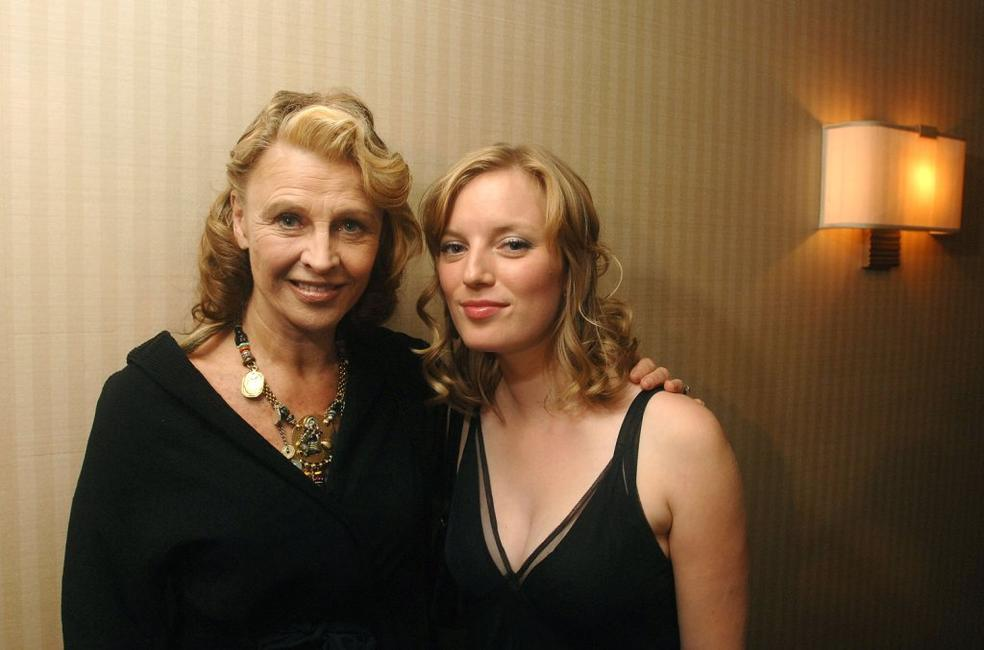 Julie Christie and writer Sara Pauley at the Toronto International Film Festival Cocktail Party for