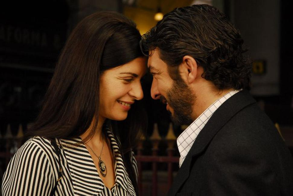 Soledad Villamil as Irene Menendez Hastings and Ricardo Darin as Benjamin Esposito in