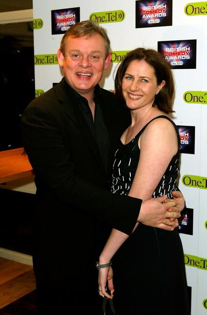 Martin Clunes and guest at the