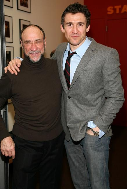 F. Murray Abraham and Jonathan Cake at the opening night of the play
