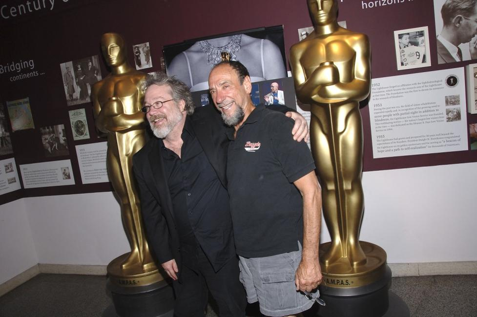 F. Murray Abraham and Tom Hulce at the 'Amadeus' reunion presented by The Academy of Motion Picture Arts and Sciences'.