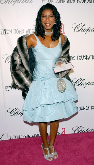 Natalie Cole at the 13th Annual Elton John Aids Foundation Academy Awards Viewing Party.