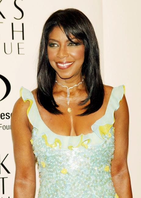 Natalie Cole at the Saks Fifth Avenue's Unforgettable Evening.