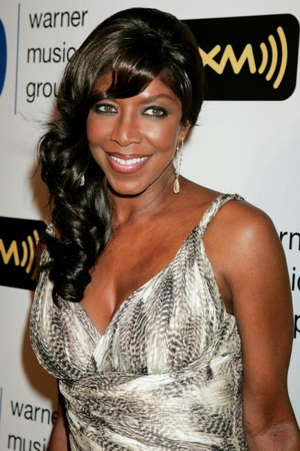 Natalie Cole at the Warner Music Group 2008 GRAMMY Awards.