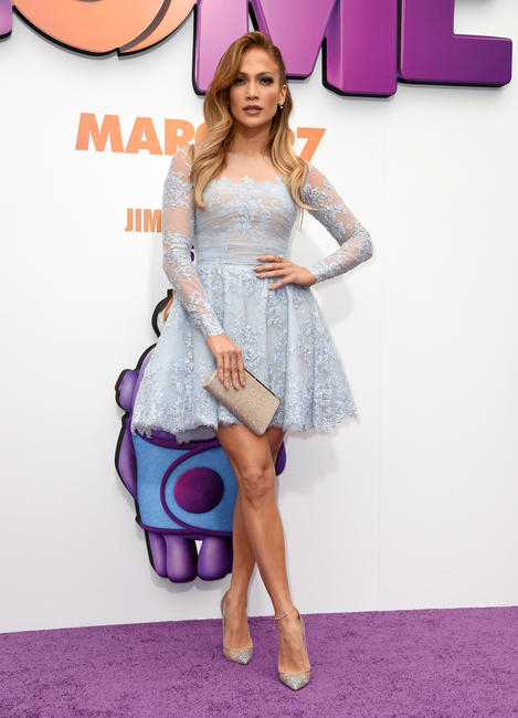 Jennifer Lopez at the California premiere of