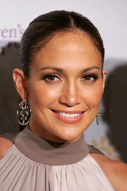 Jennifer Lopez at the 20th Anniversary Children's Health Fund Gala Dinner.