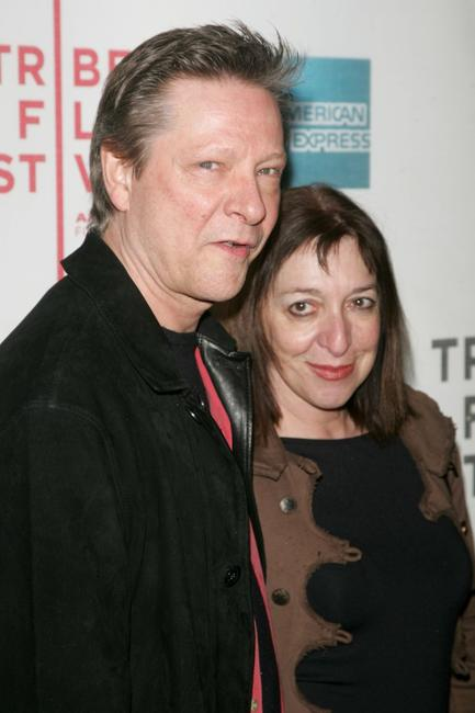 Chris Cooper and his wife Marianne Leone at the opening night premiere of