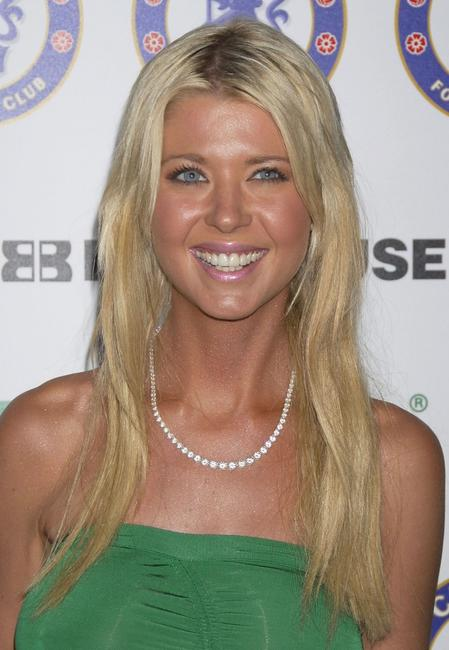 Tara Reid at the party for the Chelsea Football Club.
