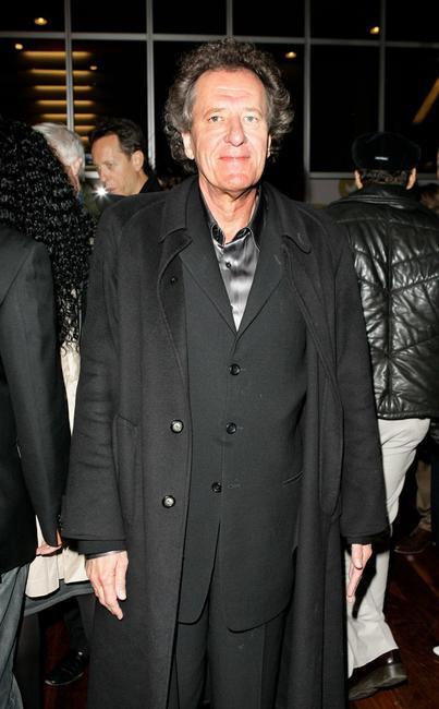 Geoffrey Rush at The Times BFI 51st London Film Festival after party following thepremiere of