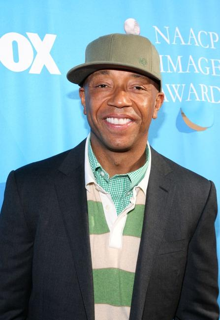 Russell Simmons at the 38th annual NAACP Image Awards.