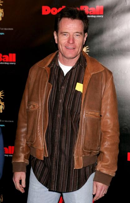 Bryan Cranston at the Dodgeball The Celebrity Tournament to benefit the Elizabeth Glaser Pediatric Aids Foundation and celebrate the DVD Release of