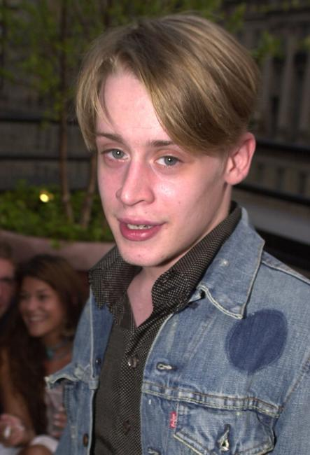 Macaulay Culkin at the opening party of the Hudson Hotel's Sky Terrace .