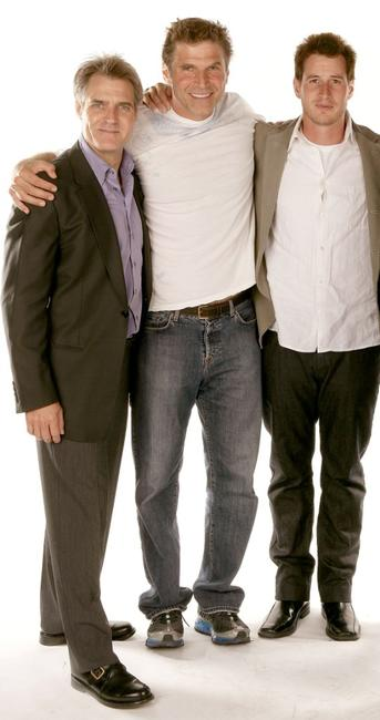 Henry Czerny, Nick Chunlund and Brendan Fehr at the 2007 CineVegas film festival.