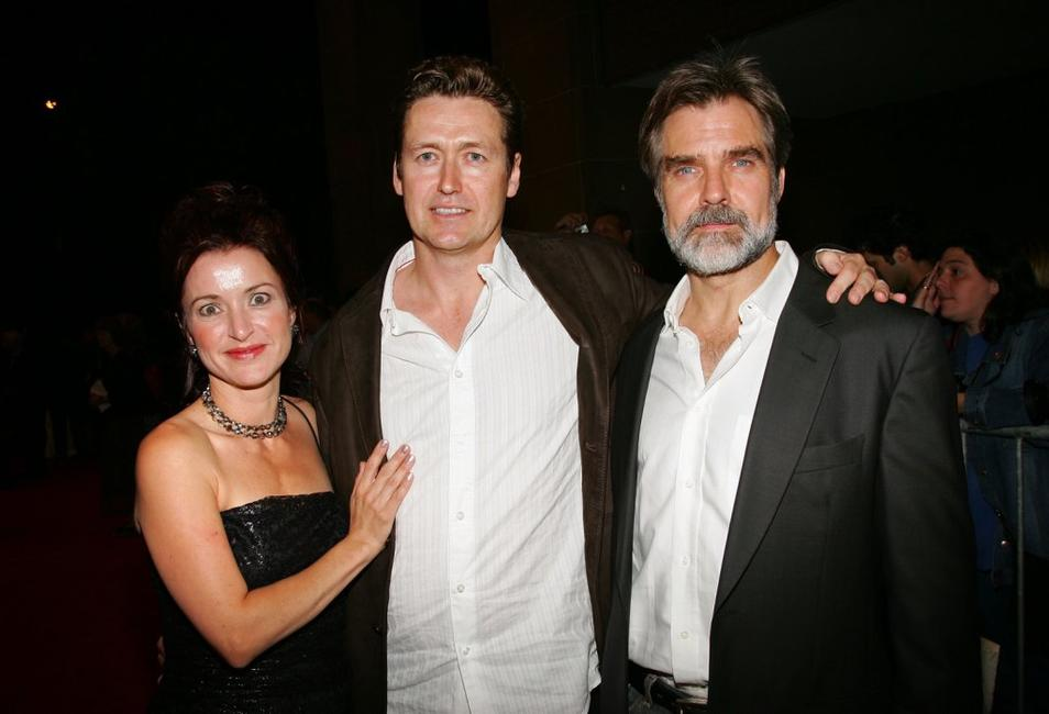 Producer Mary Anne Waterhouse, Director Andrew Currie and Henry Czerny at the Toronto International Film Festival premiere screening of