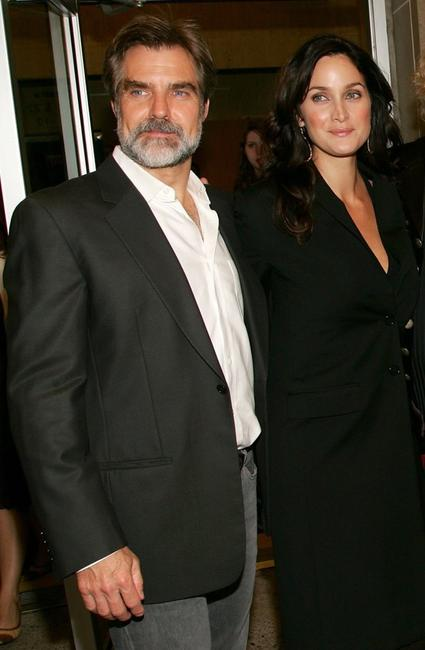 Henry Czerny and Carrie-Anne Moss at the Toronto International Film Festival premiere screening of