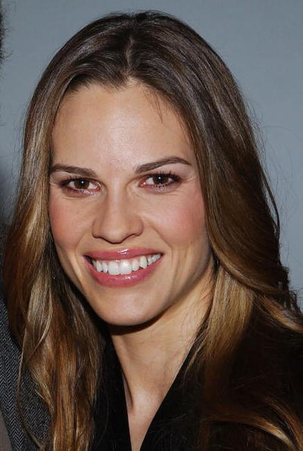 "Hilary Swank at the Variety Screening Series ""Million Dollar Baby"" in Hollywood."