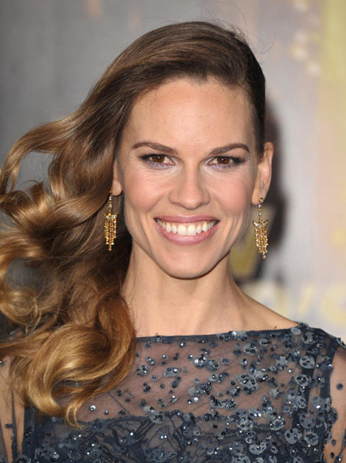 Hilary Swank at the California premiere of