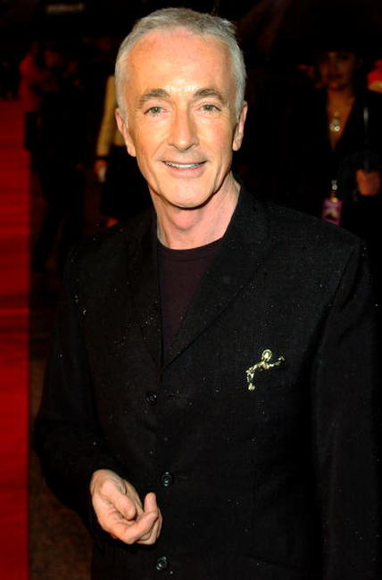 Anthony Daniels at the London premiere of