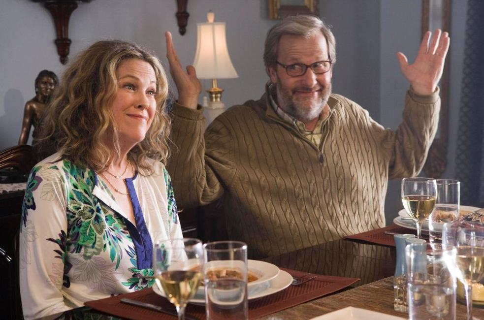 Catherine O'Hara as Gloria and Jeff Daniels as Jerry in