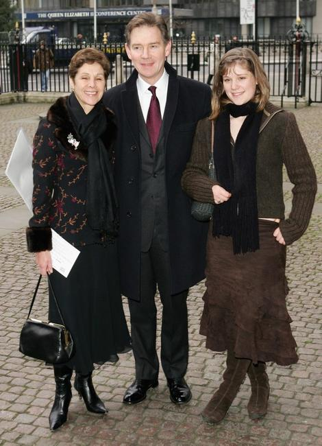 Anthony Andrews, Tony and Cherie Blair at the