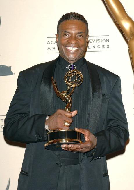 Keith David at the 2005 Creative Arts Emmy Awards, winner of 'Outstanding Voice-Over Performance'.