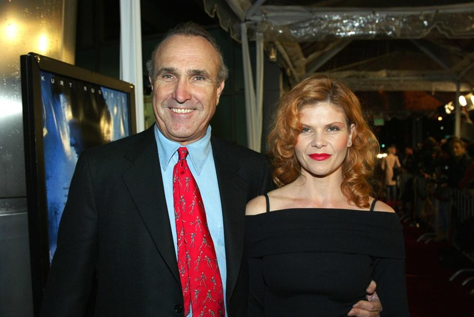 Lolita Davidovich and Ron Shelton at the premiere of