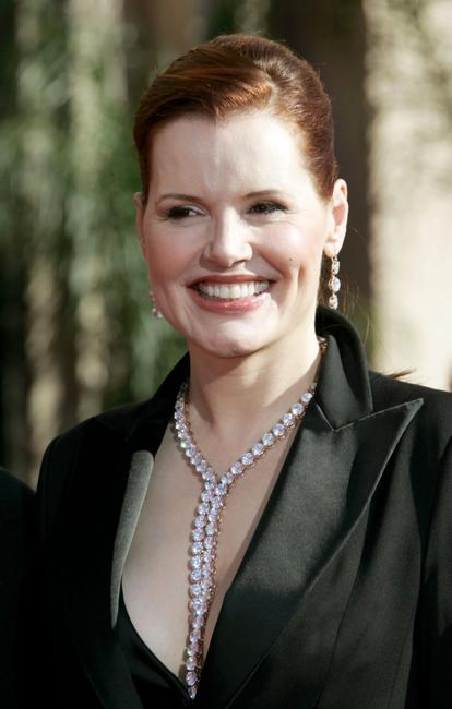 Geena Davis at the 58th Annual Primetime Emmy Awards.