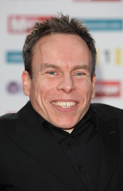 Warwick Davis at the Pride of Britain Award 2011 in London.