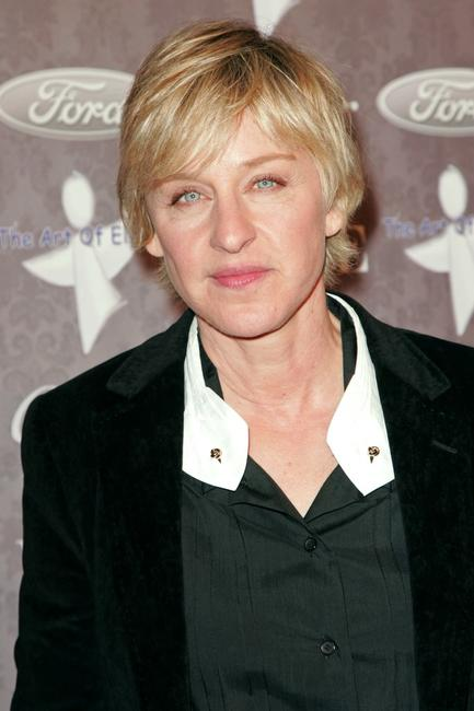 Ellen DeGeneres at the Heaven Celebrating 10 Years event benefiting the Art Elysium.