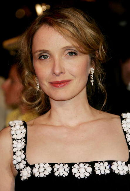 Julie Delpy at the Vanity Fair Oscar Party in West Hollywood.