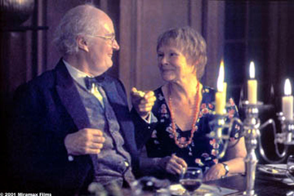 Jim Broadbent and Judi Dench in