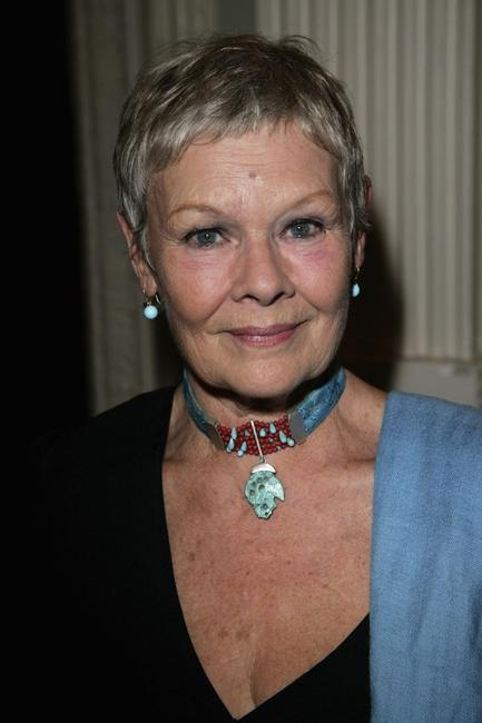 Judi Dench at the London premiere of