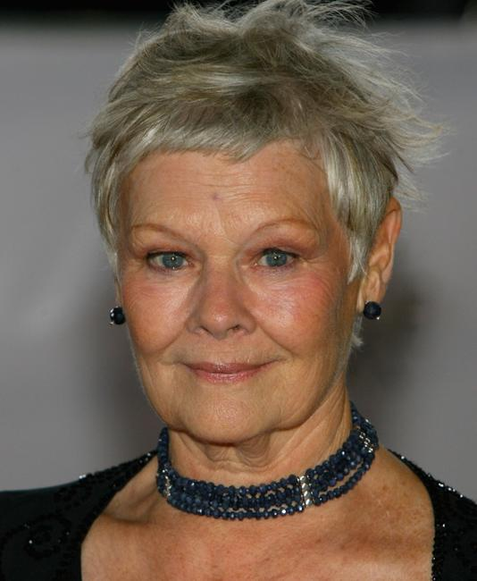 Judi Dench at the National Movie Awards held in 2007.