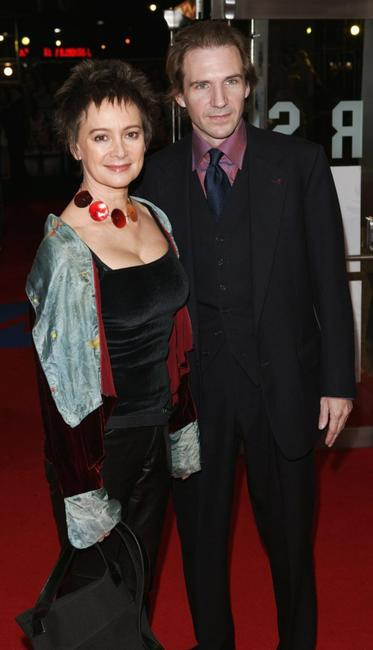 Francesca Annis and Ralph Fiennes at the