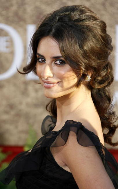 Penelope Cruz at the 64th Annual Golden Globe Awards in Beverly Hills.