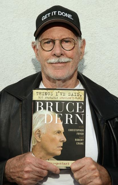 Bruce Dern at the signing copies of his new book Things I've said, but probably shouldn't have at Book Sou.