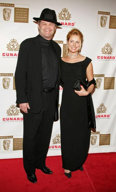 Mickey Dolenz and Ami Dolenz at the 14th Annual Britannia Awards.